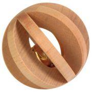 Trixie Drewniana piłka z dzwonkiem dla gryzoni 6cm [TX-6187]