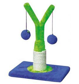 Yarro Drapak Mini Drzewko zielono-niebieski 18x18x32cm [Y1160]