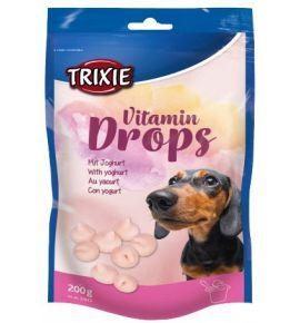 Trixie Dropsy jogurtowe z witaminami dla psa saszetka 200g [31643]