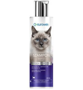 Eurowet Szampon dla  kotów 200ml