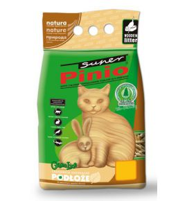Super Pinio żwirek drewniany 10L