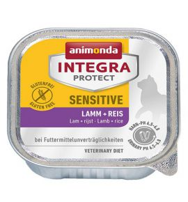 Animonda Integra Protect Sensitive dla kota - z jagnięciną i ryżem tacka 100g