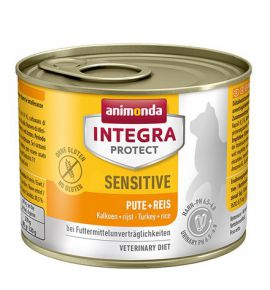 Animonda Integra Protect Sensitive dla kota - z indykiem i ryżem puszka 200g