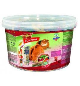 Vitapol Pokarm dla świnki morskiej 2w1 wiaderko 1,6kg [1363]