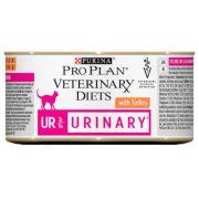 Purina Veterinary Diets Urinary UR Feline indyk puszka 195g
