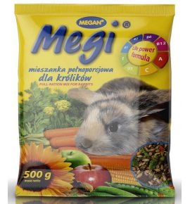 Megan Mieszanka Megi dla królika 500g [ME142]