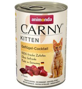 Animonda Carny Kitten Koktajl Drobiowy puszka 400g