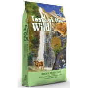 Taste of the Wild Rocky Mountain Feline z dziczyzną i łososiem 2kg