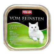 Animonda vom Feinsten Castrated Cats z Indykiem tacka 100g
