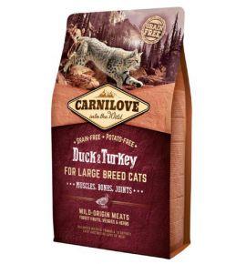 Carnilove Cat Duck & Turkey for Large Breed - kaczka i indyk 2kg