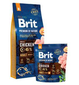 Brit Premium By Nature Adult M Medium 3kg