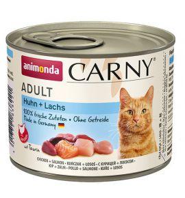 Animonda Carny Adult Kurczak + Łosoś puszka 200g