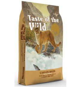Taste of the Wild Canyon River Feline z pstrągiem i łososiem 6,6kg