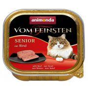 Animonda vom Feinsten Cat Senior z Wołowiną tacka 100g