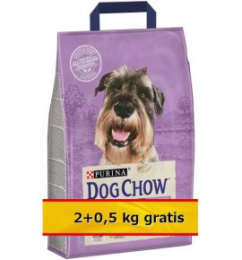 Purina Dog Chow Senior Jagnięcina 2,5kg (2+0,5kg)