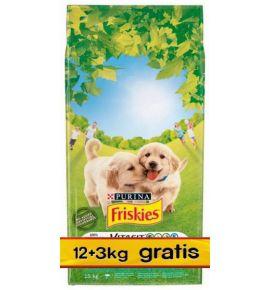 Friskies Junior 15kg (12+3kg gratis)