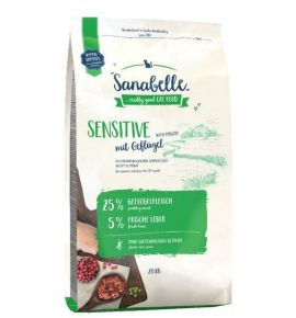 Sanabelle Adult Sensitive z drobiem 2kg