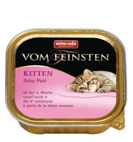 Animonda vom Feinsten Cat Kitten Baby Pate tacka 100g