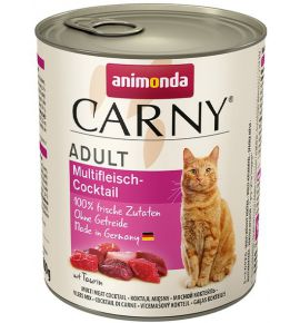 Animonda Carny Adult Mix Mięsny puszka 800g