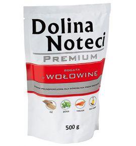 Dolina Noteci Premium Pies Wołowina saszetka 500g