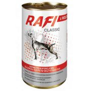Rafi Pies Classic Wołowina w sosie 1250g