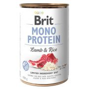 Brit Mono Protein Lamb & Rice puszka 400g