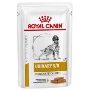 Royal Canin Veterinary Diet Canine Urinary S/O Moderate Calorie saszetka 100g