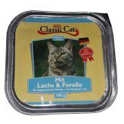 Classic Cat Adult Łosoś i pstrąg tacka 100g