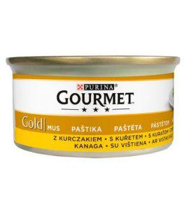 Gourmet Gold Mus z Kurczakiem 85g