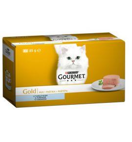 Gourmet Gold Mus z Tuńczykiem puszka 4x85g
