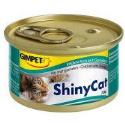 Gimpet Shinycat Huhnchen mit Garnelen - kurczak i krewetki puszka 70g