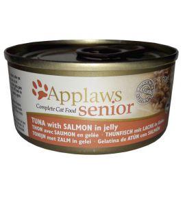 Applaws puszka dla kota Senior tuńczyk & łosoś 70g