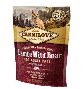 Carnilove Cat Lamb & Wild Boar Sterilised - jagnię i dzik 400g