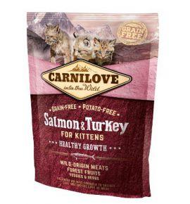Carnilove Cat Salmon & Turkey for Kittens - łosoś i indyk 400g