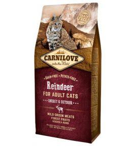 Carnilove Cat Reindeer Energy & Outdoor - renifer 6kg