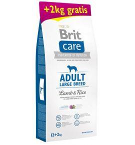 Brit Care New Adult Large Breed Lamb & Rice 14kg (12+2kg gratis)