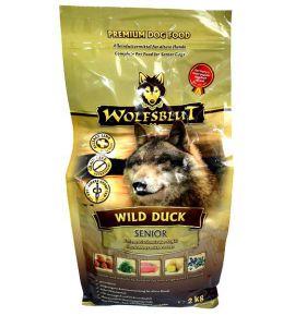 Wolfsblut Dog Wild Duck Senior kaczka i bataty 2kg