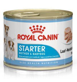 Royal Canin Starter Mother&Babydog karma mokra - mus, dla suk w czasie ciąży, laktacji oraz szczeniąt puszka 195g