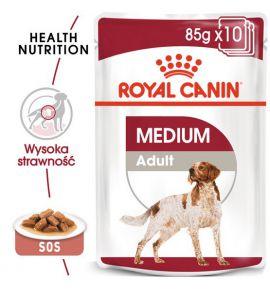 Royal Canin Medium Adult karma mokra w sosie dla psów dorosłych, ras średnich saszetika 140g