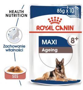 Royal Canin Maxi Ageing 8+ karma mokra w sosie dla psów dojrzałych, po 8 roku życia, ras dużych saszetka 140g