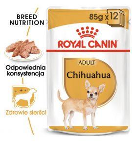 Royal Canin Chihuahua Adult karma mokra – pasztet, dla psów dorosłych rasy chihuahua saszetka 85g