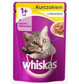 Whiskas Kurczak w galaretce saszetka 100g