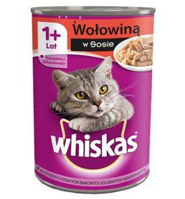 Whiskas Wołowina puszka 400g