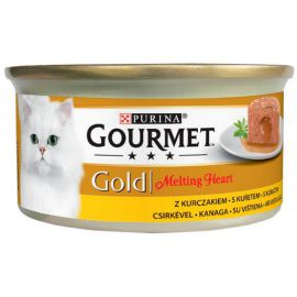 Gourmet Gold Melting Heart Kurczak 85g