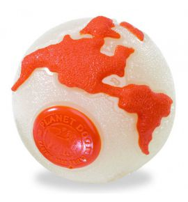 PLANET DOG ORBEE BALL BEŻ/POM LARGE