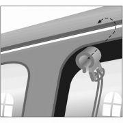 Trixie Siatka nylonowa odgradzająca psa w samochodzie 1,2x1 m [TX-1312]